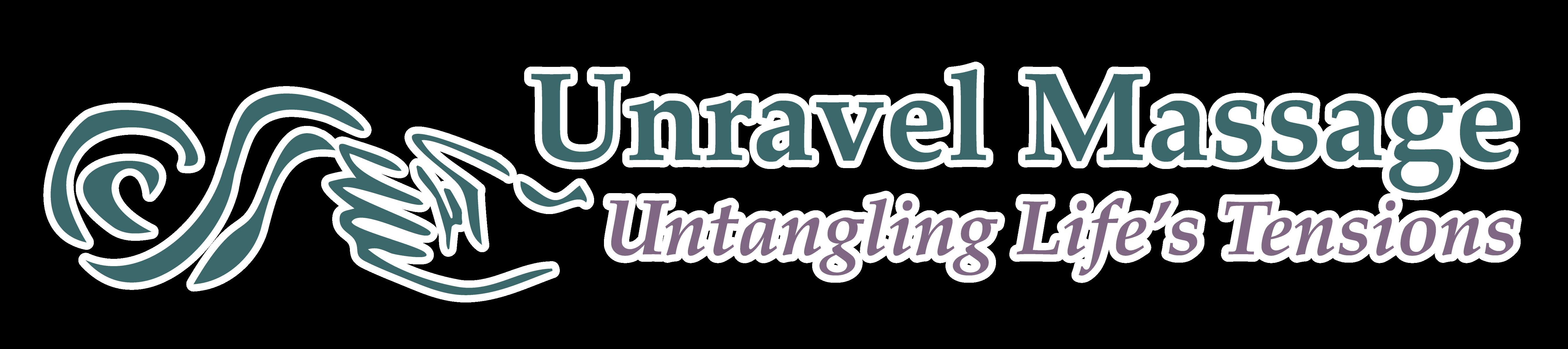 Unravel Massage Logo